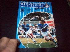 Oldham Athletic v Barnsley, 1983/84